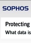 PII PROTECTION SOPHOS IDEA