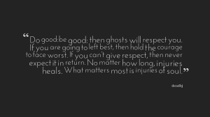 do good be good_deadbj quote