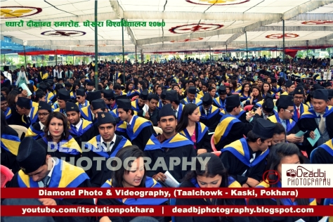 Eleventh convocation of Pokhara University   (IMAGES By BIJAY ACHARYA) - 2014 A.D.