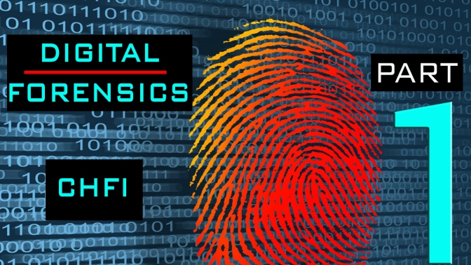 CHFI & Digital Forensics Tutorial [Part 1] – Basics & FTK IMAGER Lab