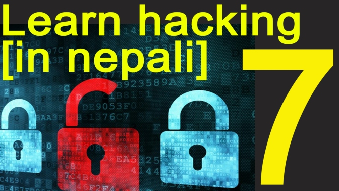 [In Nepali] Learn Ethical Hacking – Part 7 – Scanning + NMAP Lab