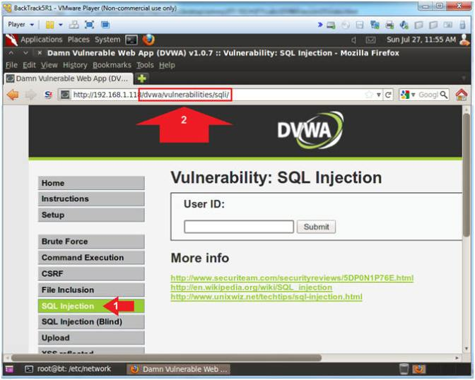 SQL injection lab PT.2 – DVWA Login + Low Security Level Submit – HC Nepal