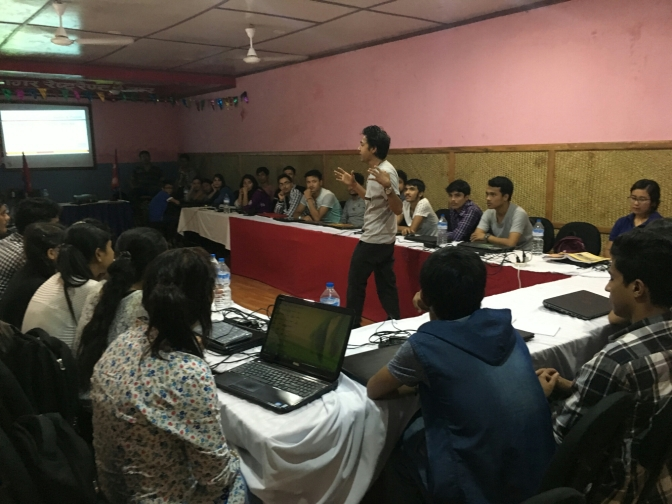 """Hackers For Charity"" – Free Ethical Hacking Workshop Pokhara, Nepal : 2016 – NHC, HCNEPAL"