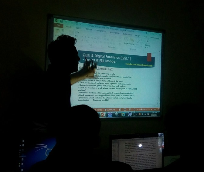 Ethical Hacking Workshop v13. [Highlights] – Pokhara, Nepal