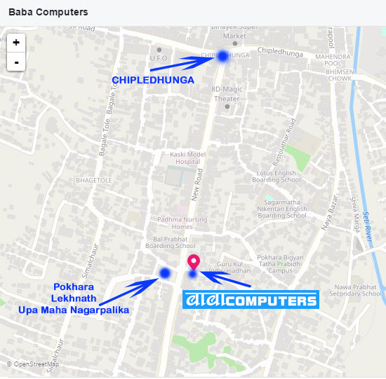 BABA COMPUTER location