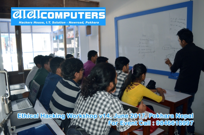 Ethical Hacking Workshop v14, Baba Computers, Pokhara Nepal