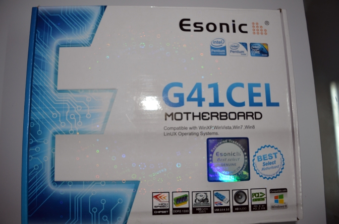 ESONIC G41 Motherboard, price in nepal, pokhara